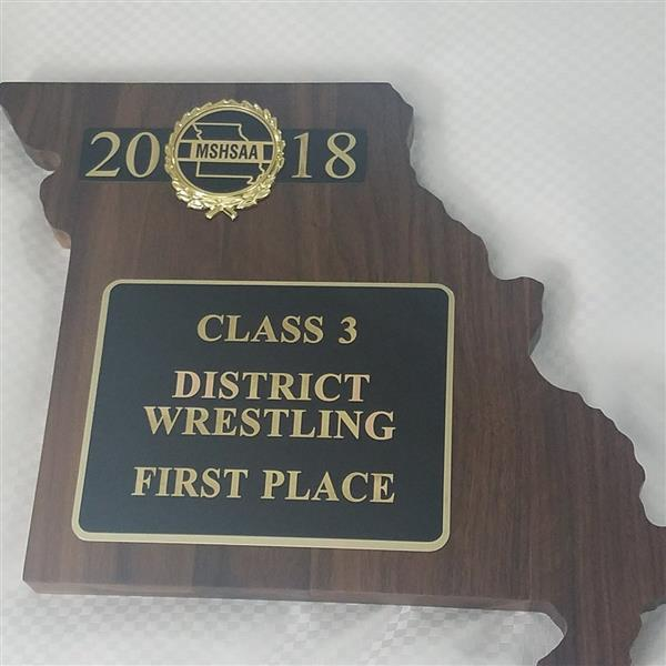 Wrestlers Win Class 3 District Title