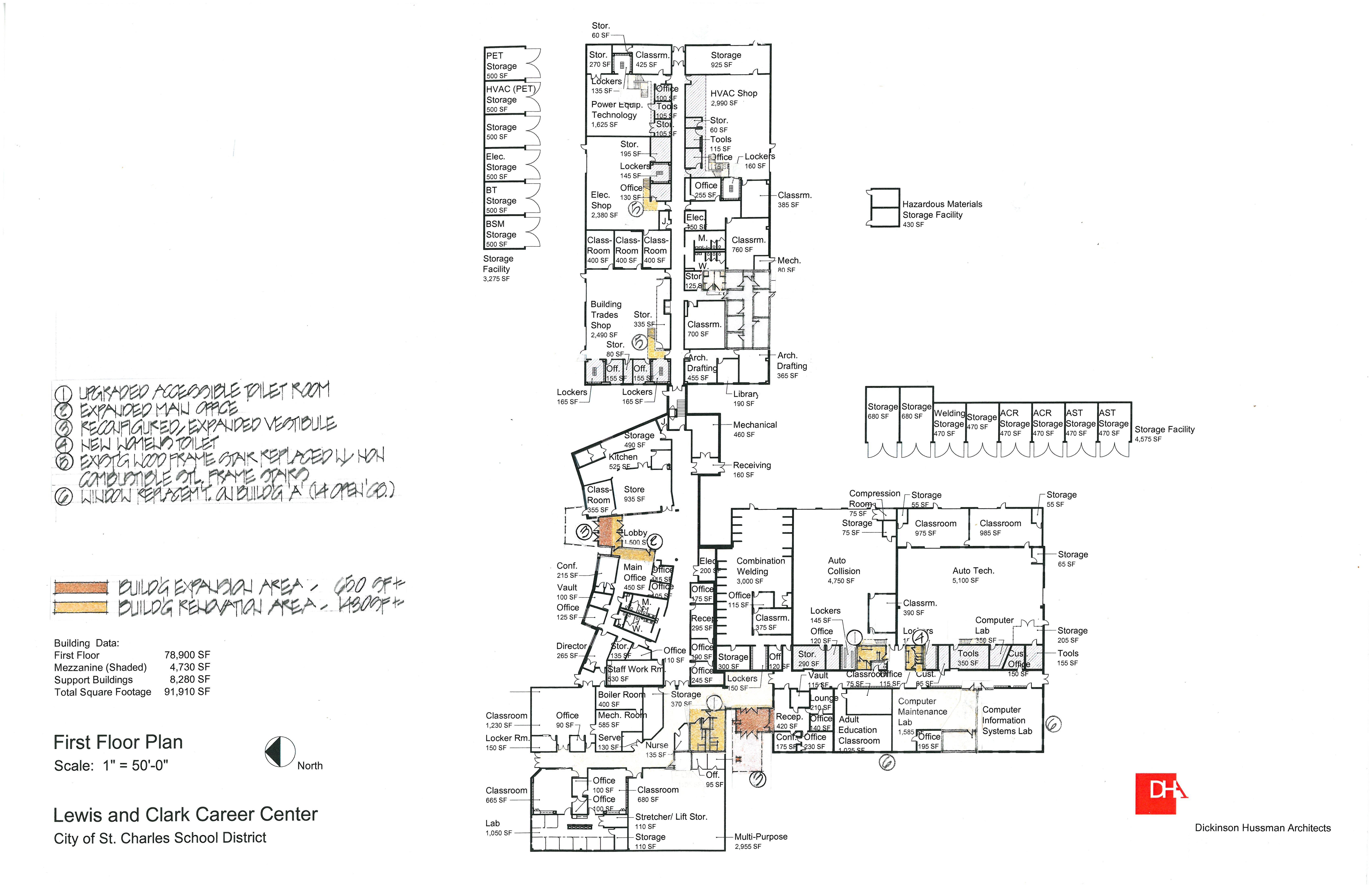 Depaul Lewis Center Floor Plan: Proposition KIDS / Proposition KIDS Building Renderings