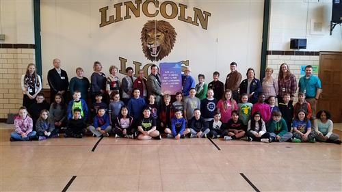 Lincoln Elementary receives huge donation from local church