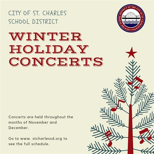 SCSD Holiday Concerts