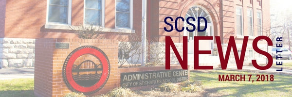 SCSD March 7, 2018 Newsletter