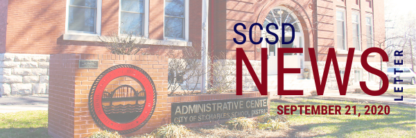 SCSD Sept. 21, 2020 Newsletter