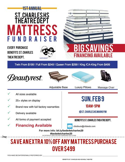 SCHS Theater Mattress Drive
