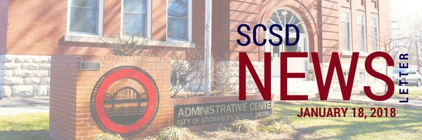 SCSD January 18, 2018 Newsletter